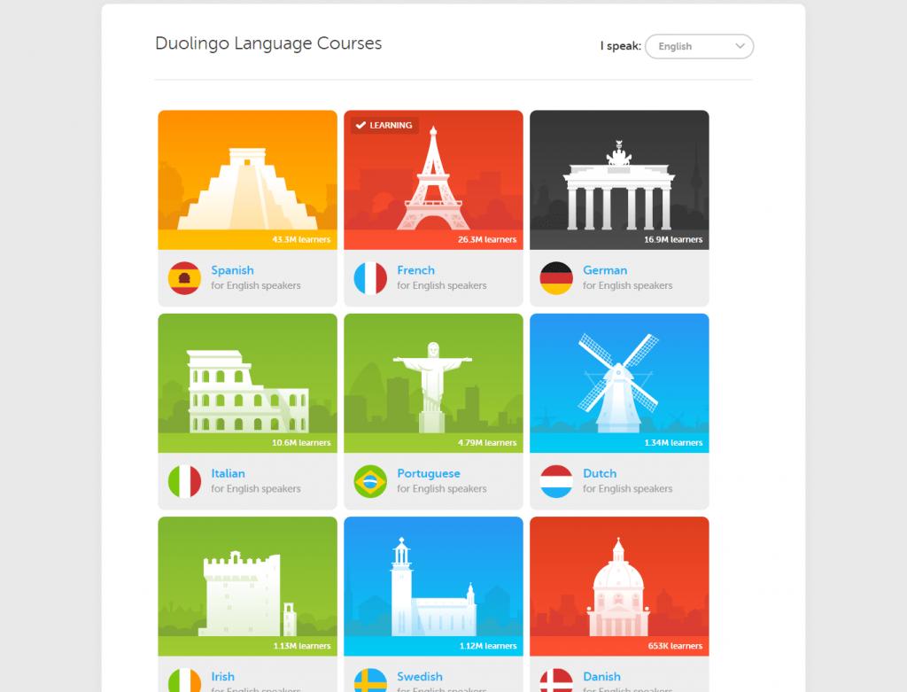 Duolingo-Courses